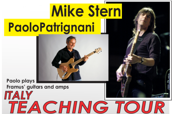 mike-stern-paolo-patrignani-clinic-italy-teaching-tour