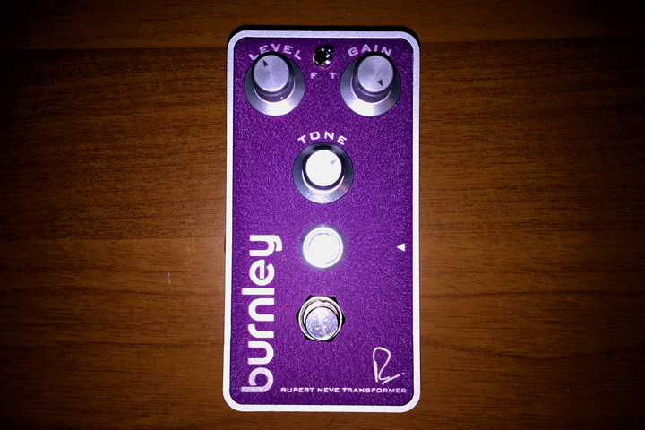 Bogner pedals 2015 - Burnley