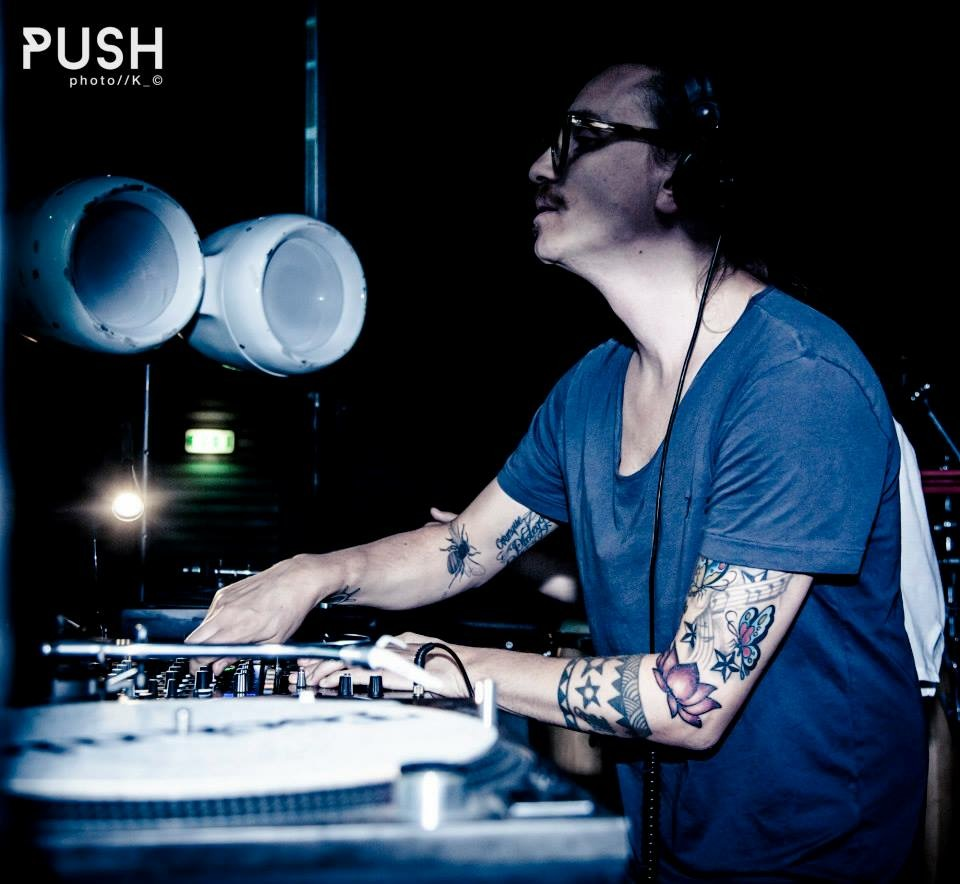 Matteo Zarcone @ Push party