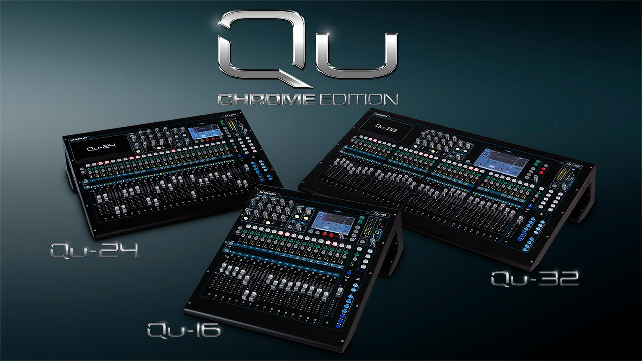 Allen & Heath - Qu Chrome