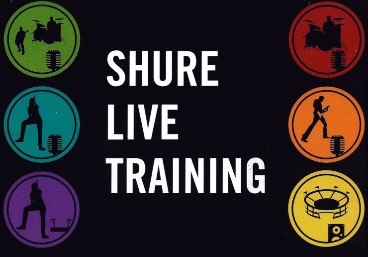 Shure Live Training facciata copia