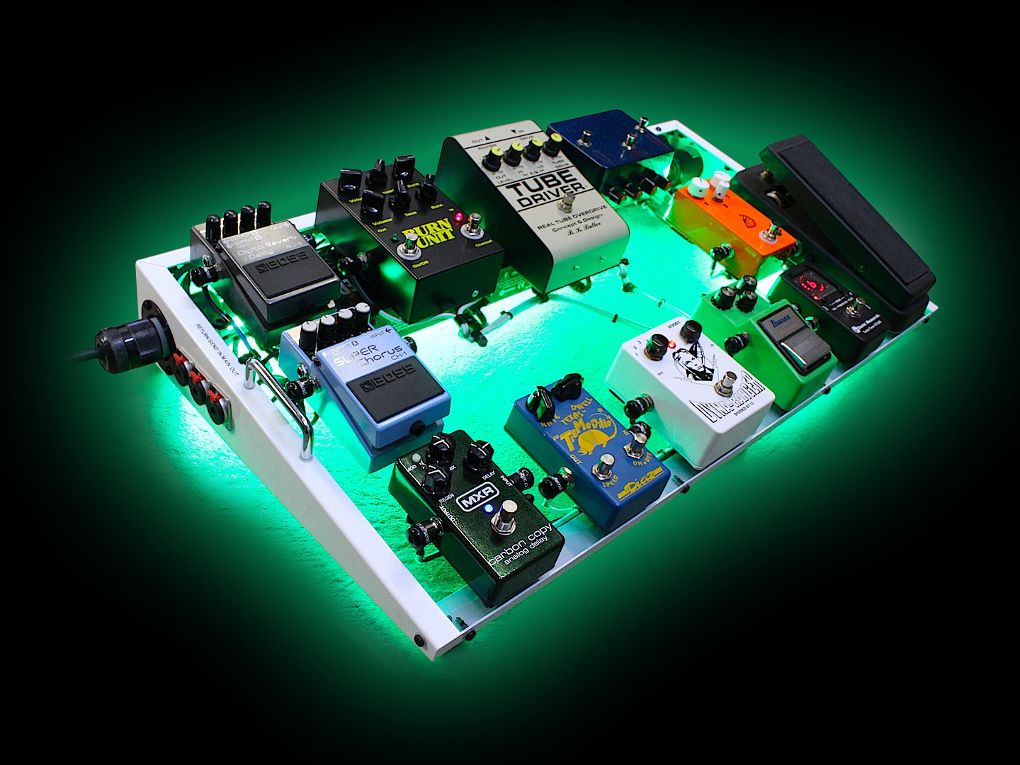 fluo pedalboard
